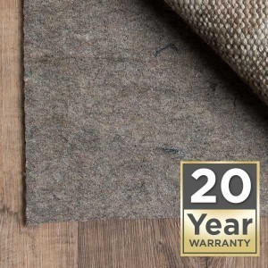 Rug pad 20 year warranty | Magic Carpets