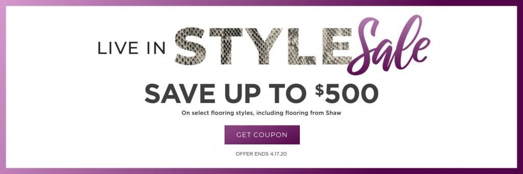 Live in Style Sale | Magic Carpets