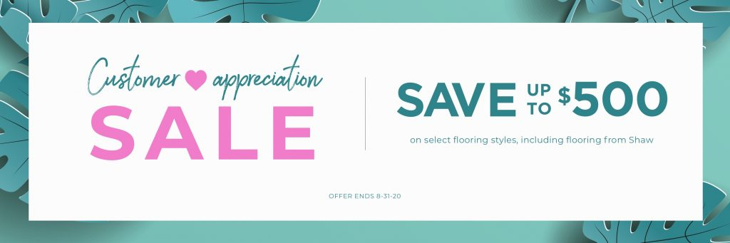 Customer Appreciation Sale | Magic Carpets